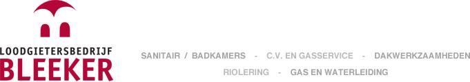 Loodgietersbedrijf Bleeker